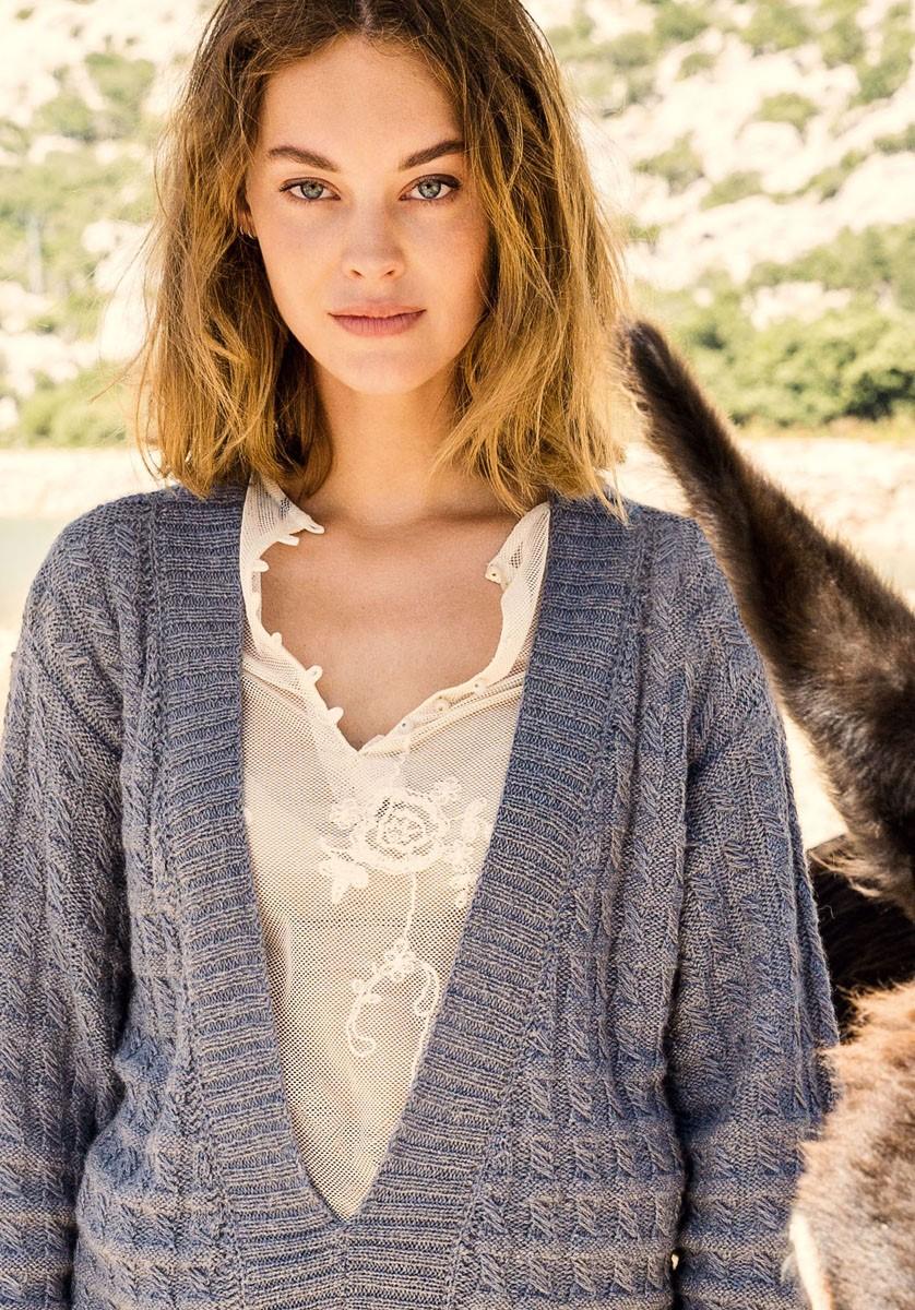 Lana Grossa SWEATER Alpaca Peru 200/Silkhair