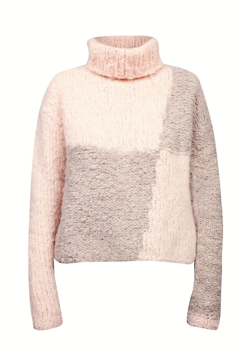 Lana Grossa SWEATER I TO FARVER Lala Berlin Hairy