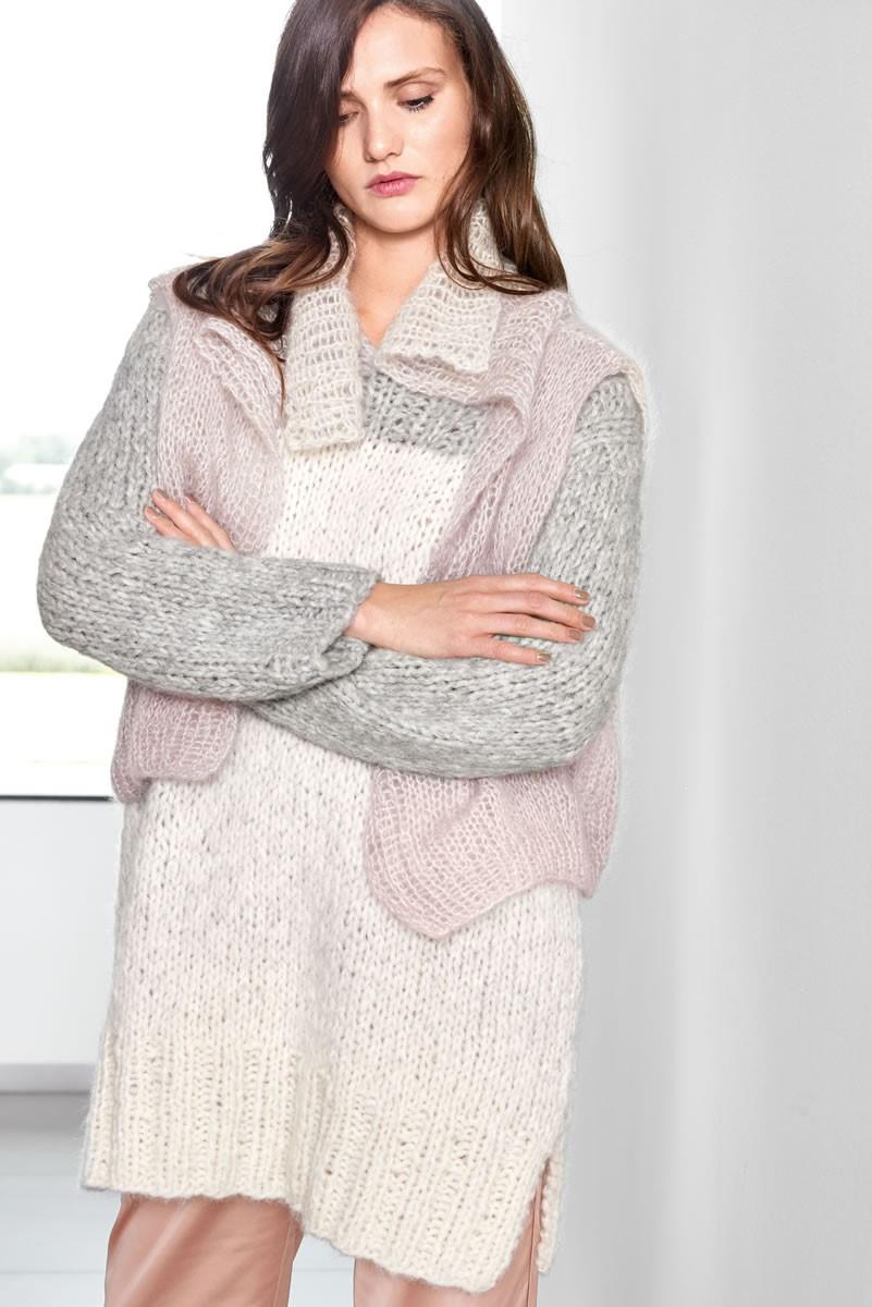 Lana Grossa SWEATER Cloud/Silkhair Degradè