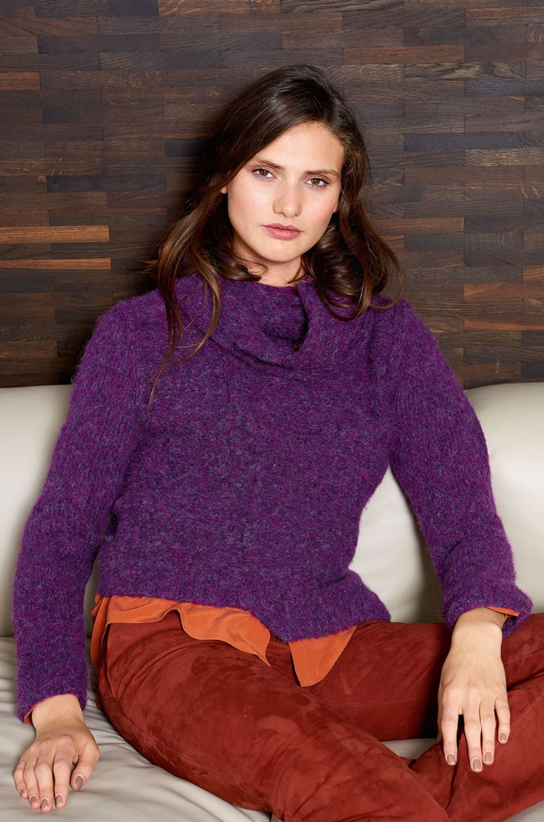 Lana Grossa SWEATER Garzato Fleece