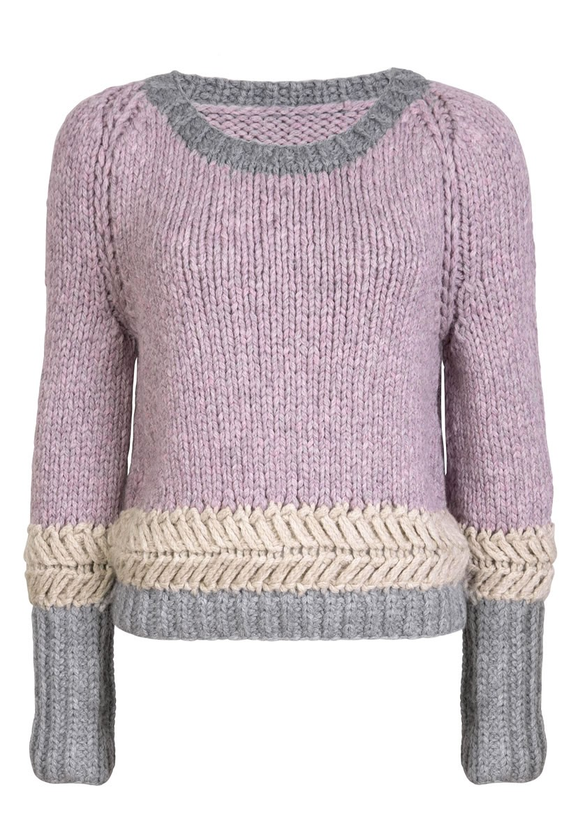 Lana Grossa SWEATER Alta Moda Superbaby