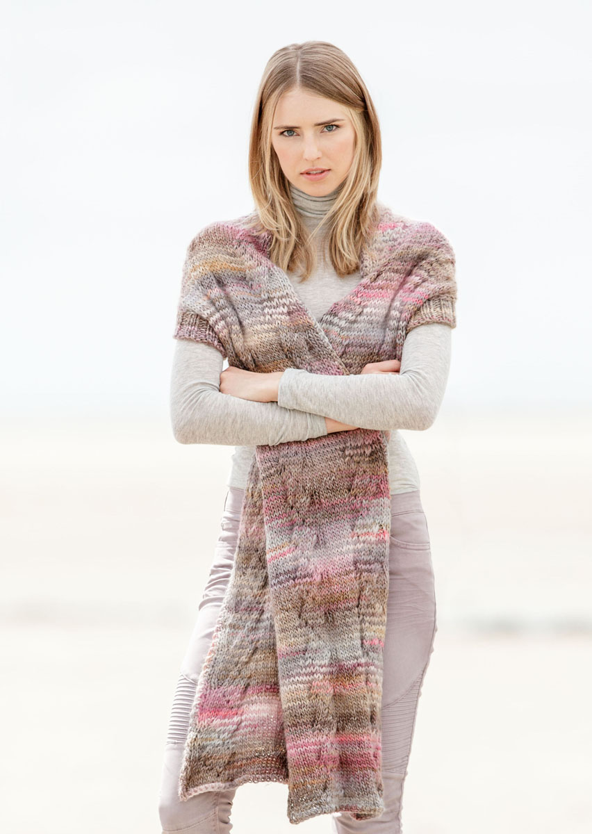 Lana Grossa Sjælevarmer Gomitolo 100 Gomitolo No 1 Model 16