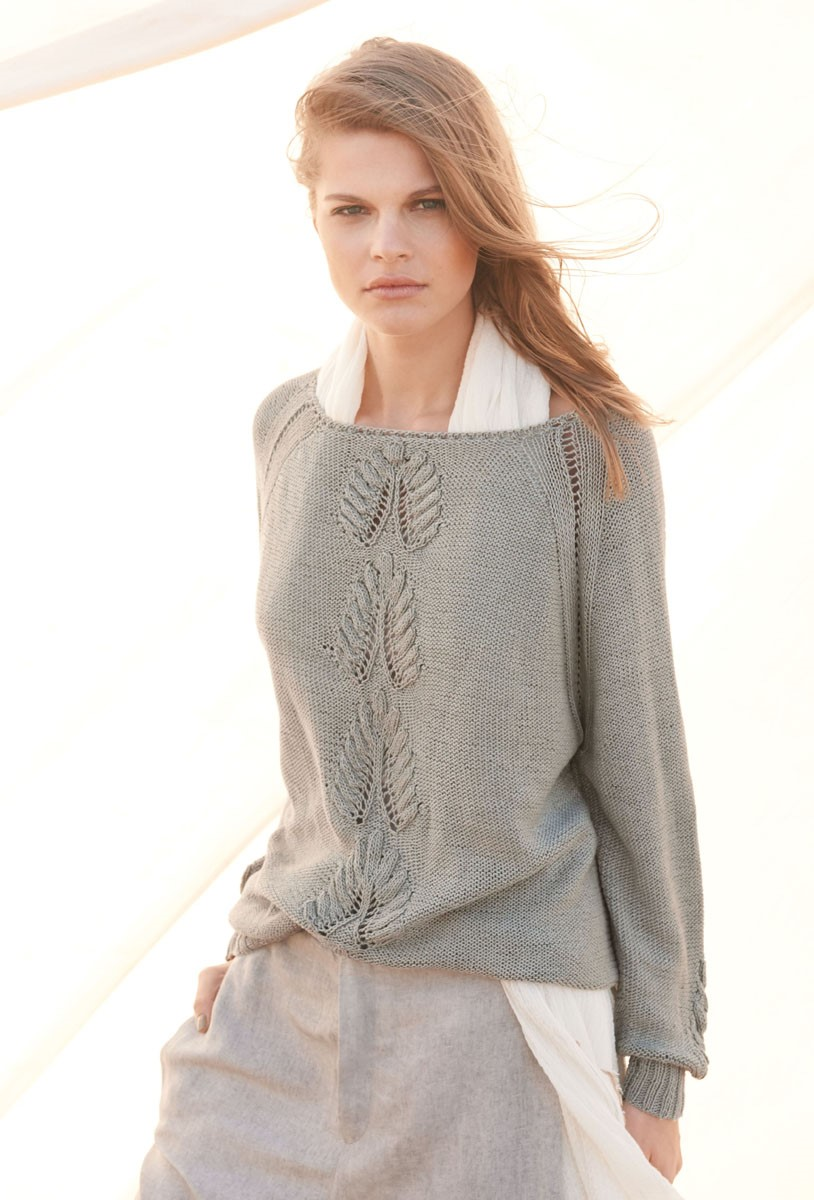 Lana Grossa SWEATER Solo Lino