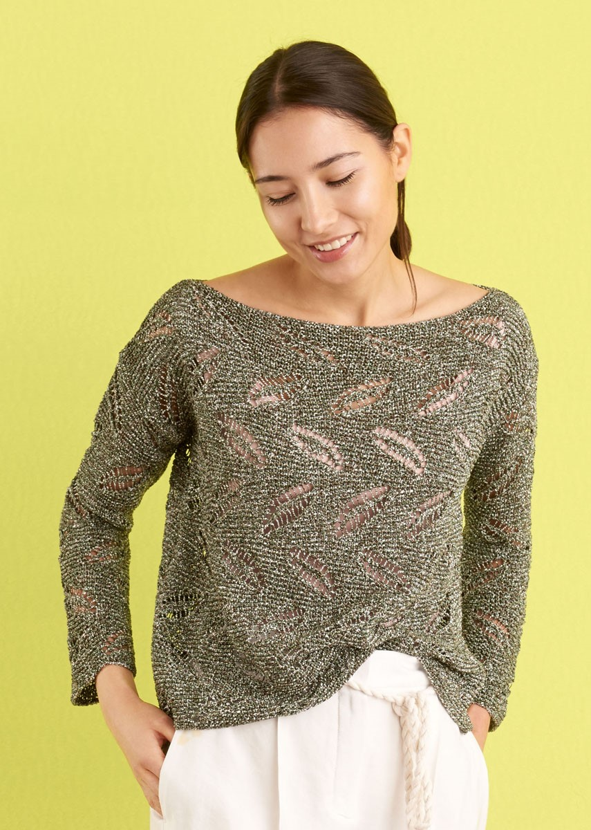 Lana Grossa SWEATER Ombra