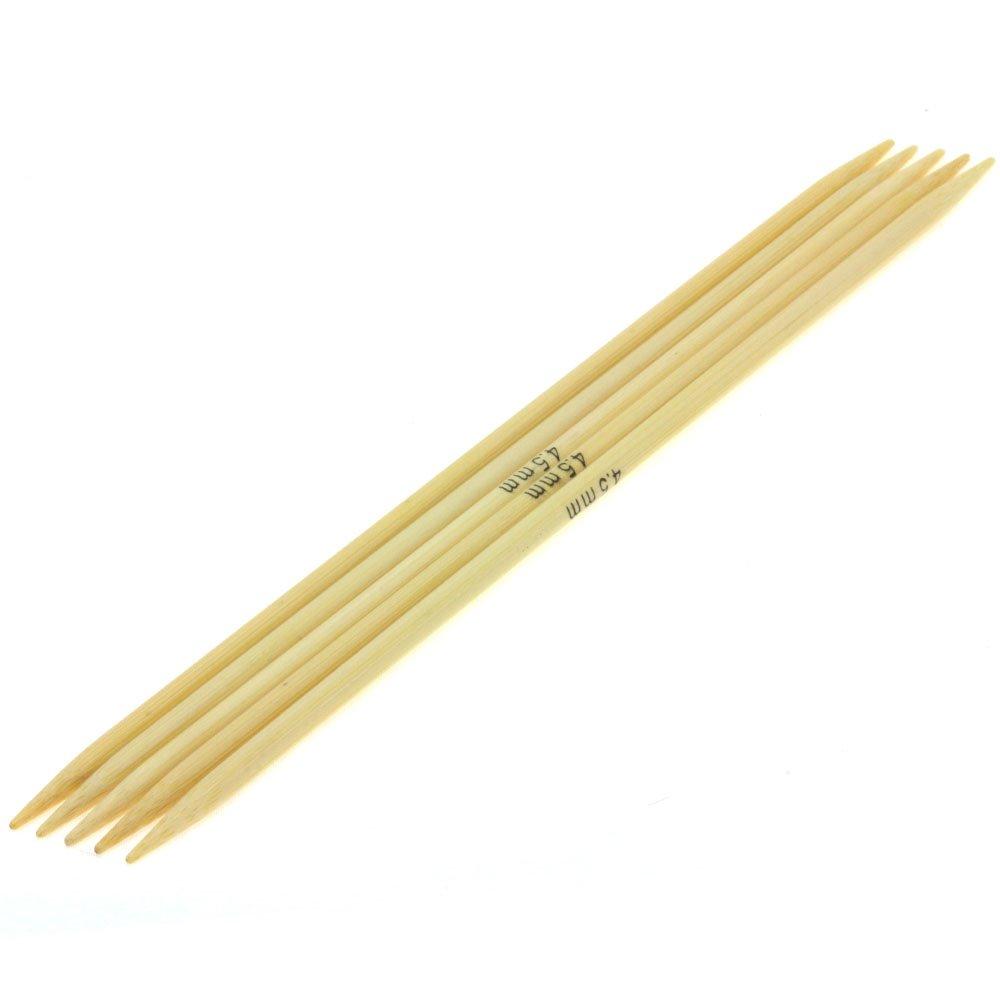 Lana Grossa Strømpepinde Sæt Bambus Str. 4,5/20cm