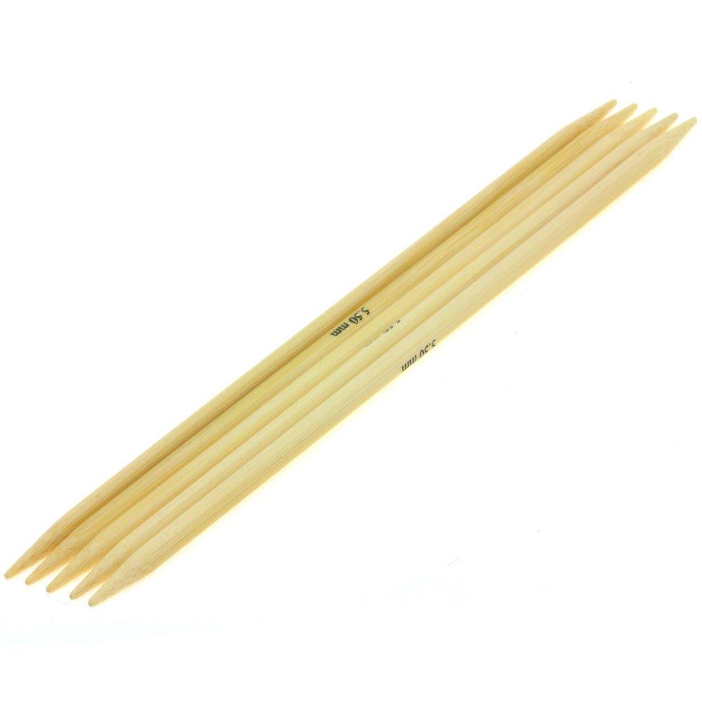 Lana Grossa Strømpepinde Sæt Bambus Str. 5,5/20cm