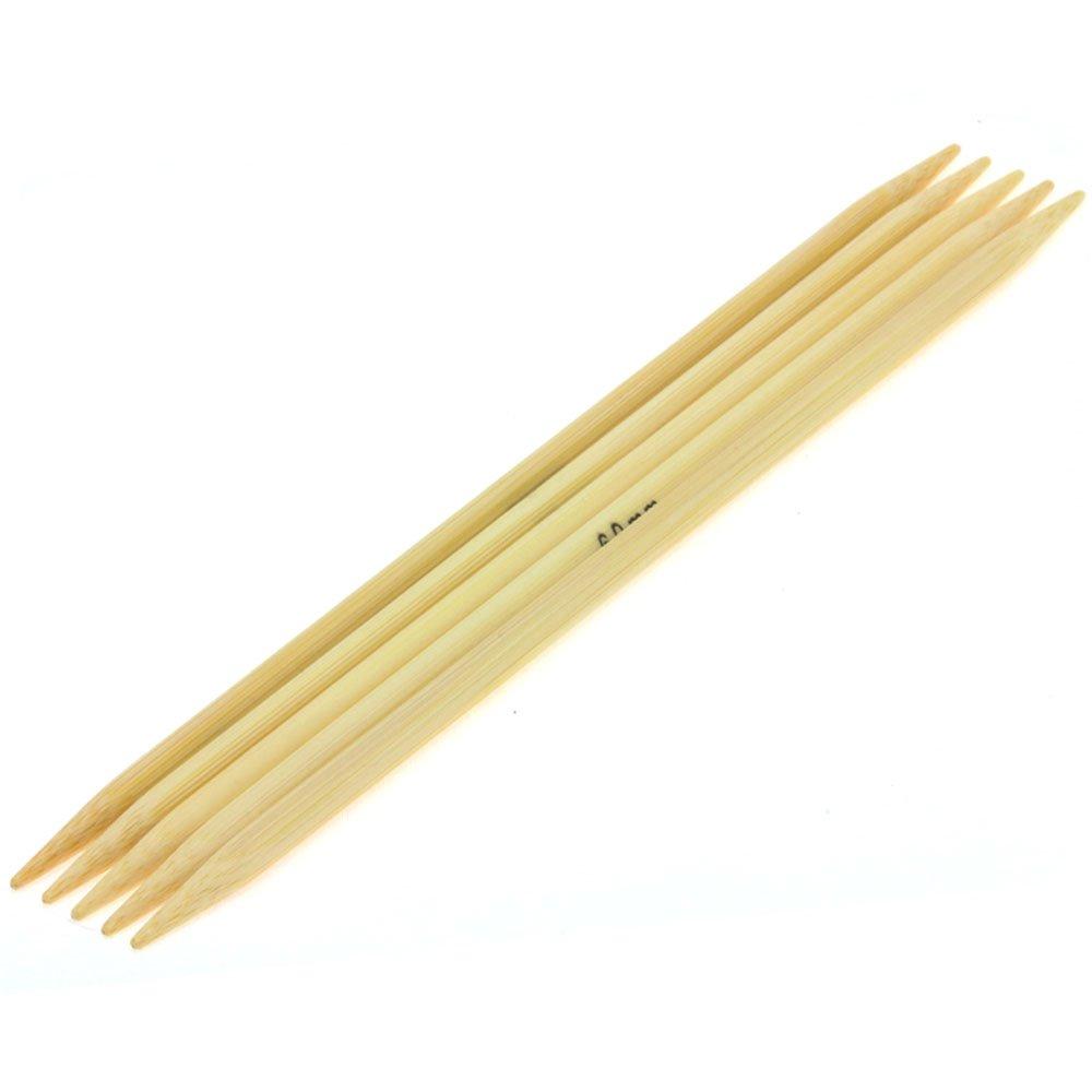 Lana Grossa Strømpepinde Sæt Bambus Str. 6,0/20cm