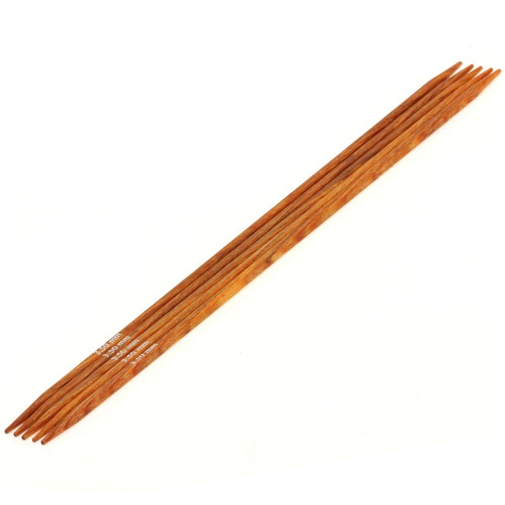 Lana Grossa Strømpepinde Sæt Design Træ Quattro Str. 3,5/20cm