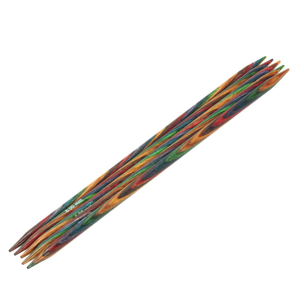 Lana Grossa Strømpepinde Sæt Design Træ Color Str. 6,0/20cm