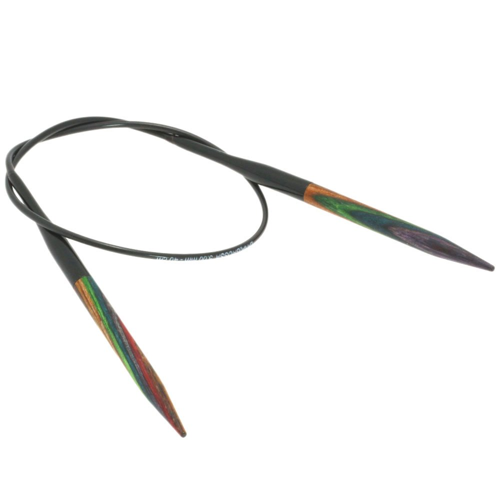 Lana Grossa Rundpind Design Træ Color Str. 5,0/ 40cm
