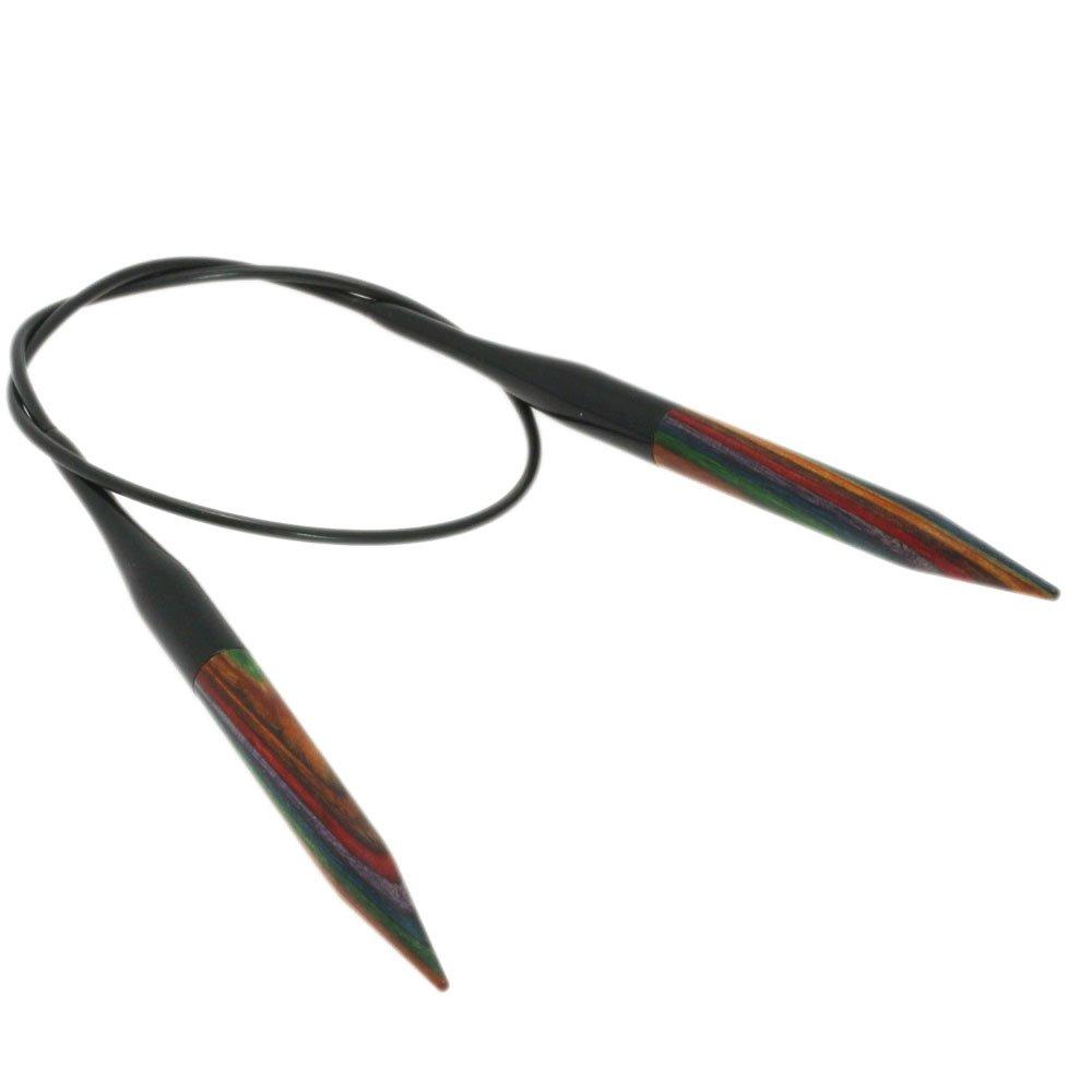 Lana Grossa Rundpind Design Træ Color Str. 7,0/ 40cm
