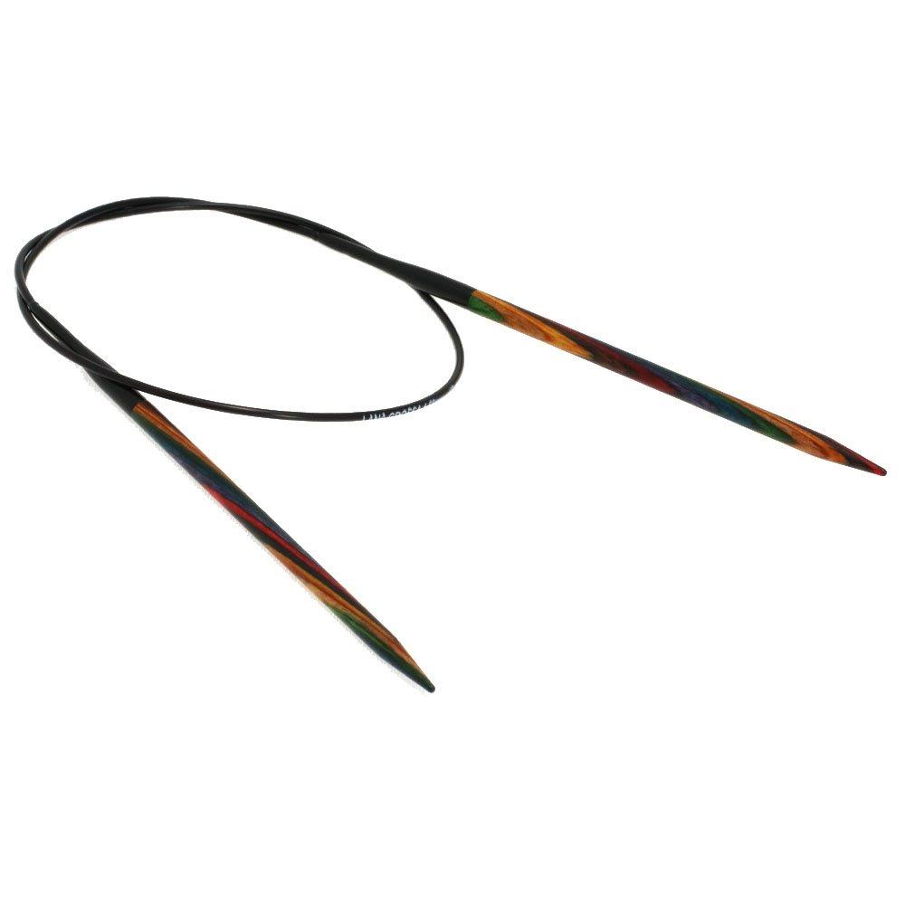 Lana Grossa Rundpind Design Træ Color Str. 4,5/ 60cm
