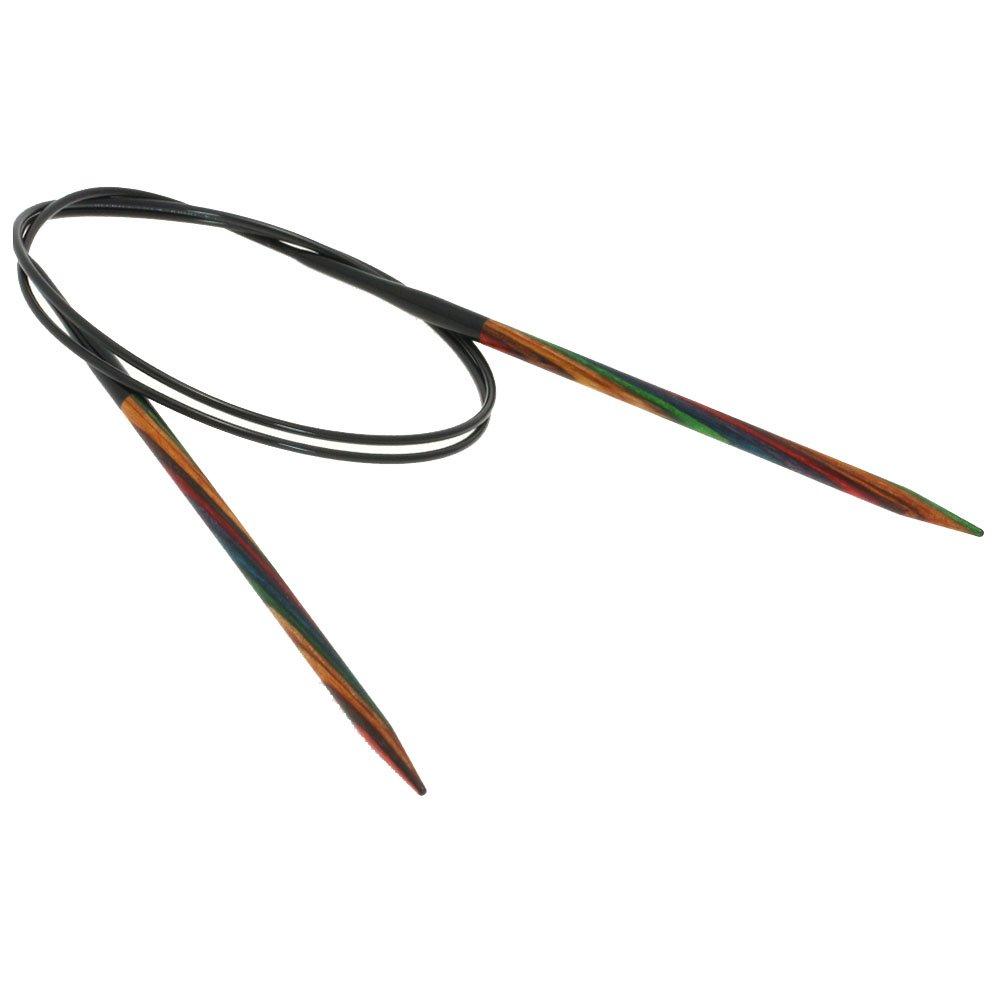 Lana Grossa Rundpind Design Træ Color Str. 4,5/80cm