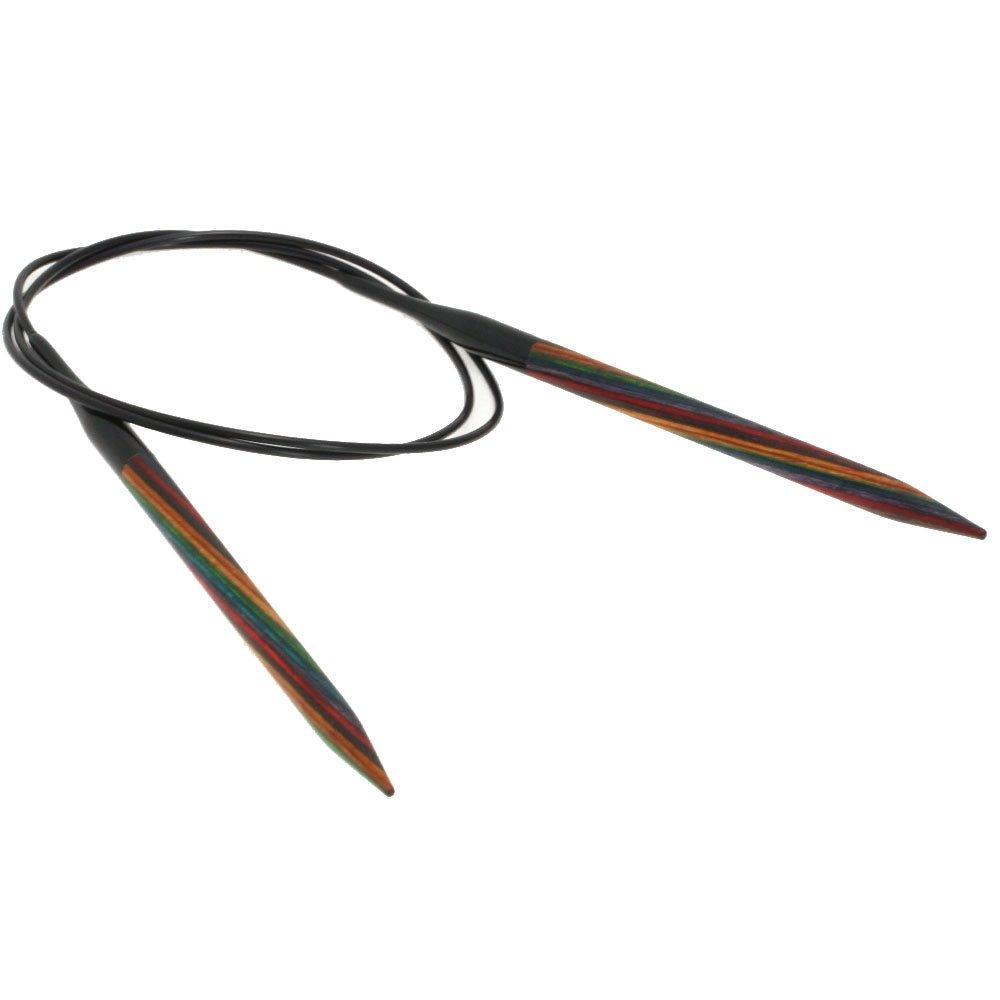 Lana Grossa Rundpind Design Træ Color Str. 6,5/80cm