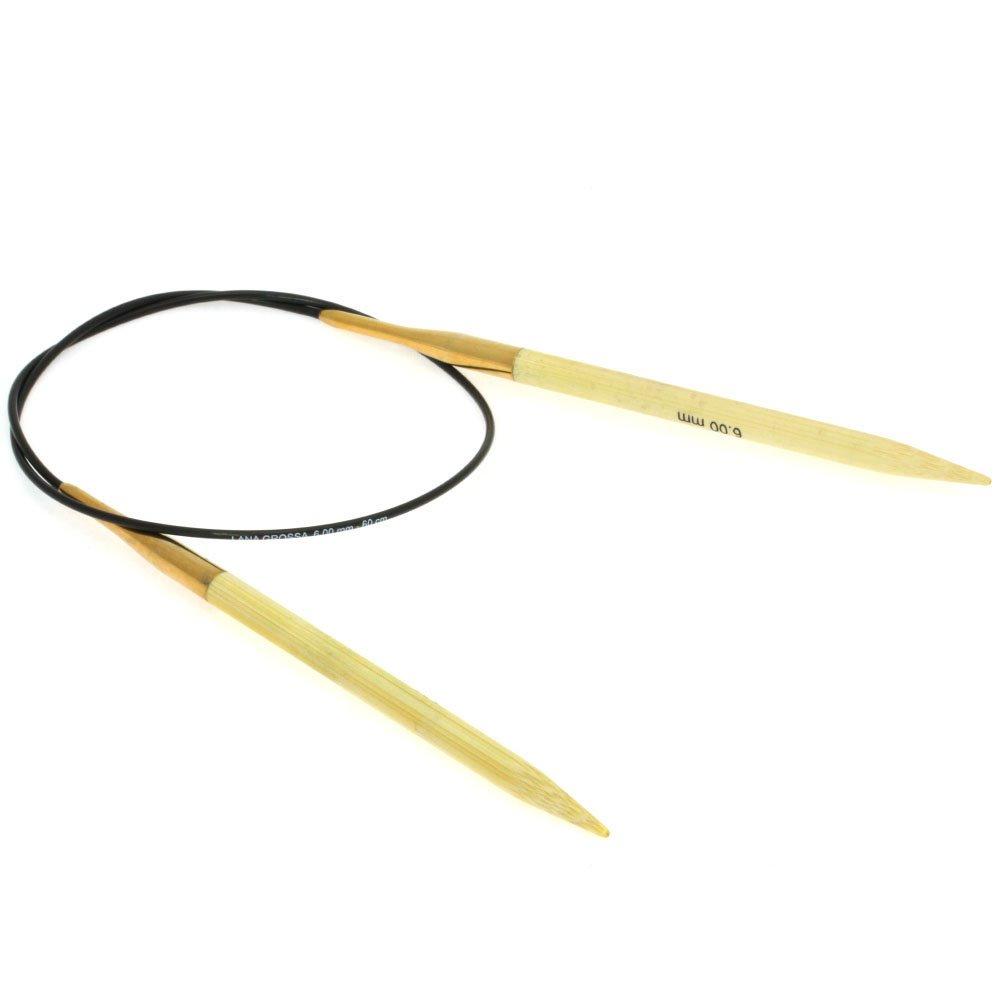 Lana Grossa Rundpind Bambus  Str. 6,0/ 60cm