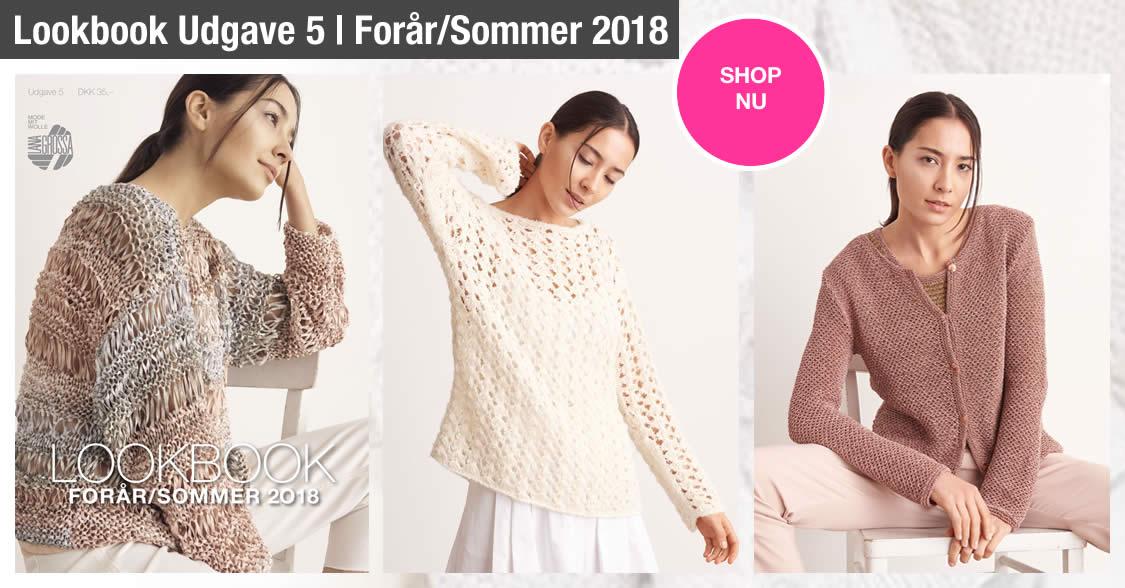 Lana Grossa Lookbook Udgave 5 - Forår/Sommer 2018